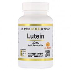 Лютеин 20 мг + зеаксантин 1 мг