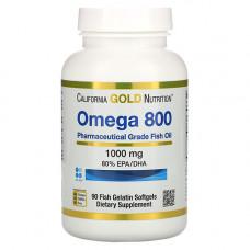 Omega 800 (Омега 3 в форме триглицеридов)