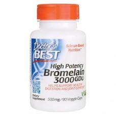 Бромелайн 3000 GDU 500 мг
