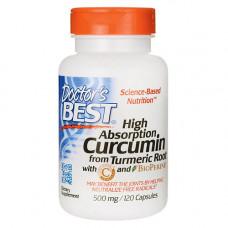 Куркумин с биоперином (куркума) 500 мг