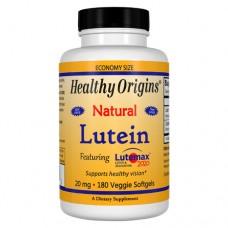 Лютеин 20 мг + зеаксантин 4 мг