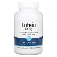 Лютеин 20 мг + зеаксантин 0.8 мг