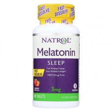 Мелатонин 3 мг (для рассасывания)