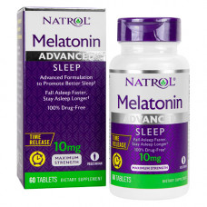 Мелатонин 10 мг (длительного действия)
