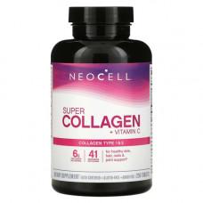 Коллаген 1 и 3 типа 1000 мг Super Collagen + C