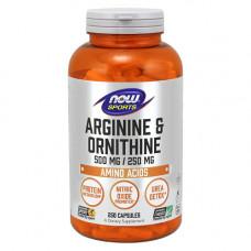 Аргинин 500 мг + Орнитин 250 мг