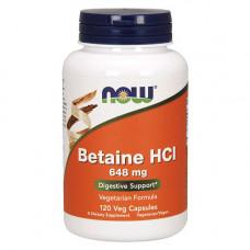 Бетаин гидрохлорид 648 мг
