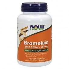 Бромелайн 2400 GDU 500 мг