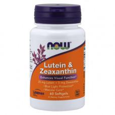 Лютеин 25 мг + зеаксантин 5 мг