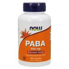 Парааминобензойная кислота (PABA) 500 мг