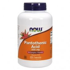 Пантотеновая кислота (витамин B5) 500 мг
