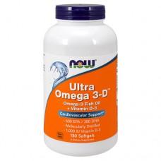 Ultra Omega 3-D (Омега 3 с витамином D3)