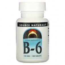 Витамин B6 (пиридоксин) 100 мг
