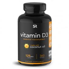 Витамин D3 5000 МЕ с кокосовым маслом